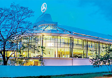 Mercedes Benz Centre  for DIMO - Colombo 14